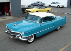 '57 cadillac . Dad had 2 of these.He sold both of them for $50.00, and one ran!