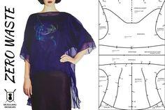 Zero Waste Fashion Design Challenge Brief from the www.duellingdesigns.com blog