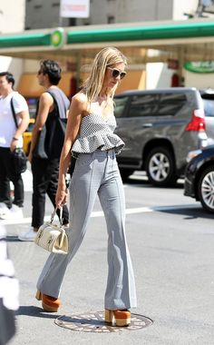 40 Super Attractive Street Fashion Styles for 2016 - Page 2 of 3 - Buzz 2016 New York Street Style, Street Look, Street Chic, Street Fashion, Catwalk, Makeup Hairstyle, Hairstyle Ideas, Chic Summer Outfits, Spring Summer Fashion