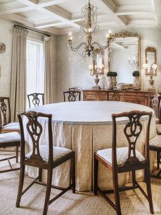 beautiful parsons chair slipcovers | dining room luv | pinterest