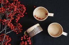 Ceramika - zestaw kremowy - Vzorcovnia