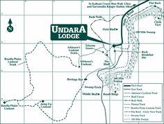 Walks at Undara - Bush Walking Tracks and Walking Maps