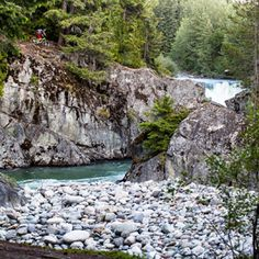 Mountain biking Whistler, B.C. in May 2013     Photo: Mason Mashon