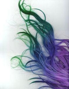purple,blue, green hair - Google Search