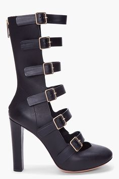 Chloe Multibuckle Heels