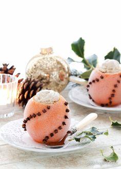 Boozy Clove & Orange Ice Cream