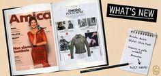 Sul nuovo numero di Amica si celebra la storia del giubbotto in pelle, tra pop e heavy metal, tra film e serie tv: il chiodo Anemone di Ash è per sempre!   #ashitalia
