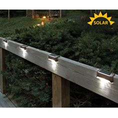 Improve safety on your steps and deck These Solar LED Deck Lights have two long lasting LEDs that turn on automatically at dusk. They light for up to five hours when internal NiMH battery is fully charged. Use them to illuminate your steps, d Pergola Plans, Diy Pergola, Pergola Ideas, White Pergola, Patio Ideas, Pergola Kits, Pergola Cover, Curved Pergola, Cheap Pergola