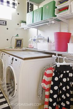 Laundry Room Makeover 4