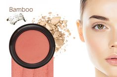 Bamboo_Face  $60 value for $35.  Includes FULL size Gabriel Products: Dual Powder Foundation (Bamboo),  Multi Pot for Eyes, Lips, Cheeks (Peony), Gabriel Mascara in a Gabriel Logo Makeup Bag