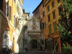 Roma - Santa Barbara dei Librai
