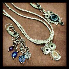 Necklaces and keyring - colares e chaveiro by Luiz Freitas - Foto: Paulinho Fernandes