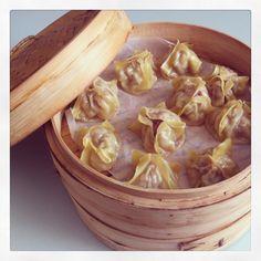 Receta fácil de dim sum hecha con wantón chino. Receta de comida china hecha en casa muy fácil de preparar, sano y delicioso en Emplatando Madrid
