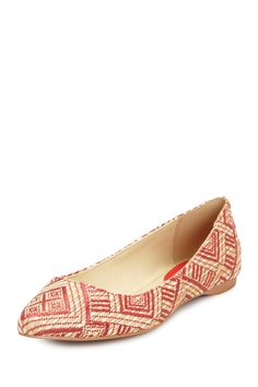 Coconuts by Matisse Brea Ikat Flat (seem a bit FLOTUS but i like them. they'd add some color to my wardrobe)