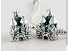 New Sterling Silver Princes Castle Bead