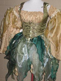 DDNJ Choose Color Renaissance Fairy Pixie by DungeonDudsNJewels, $249.00