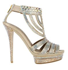 silver bling wedding shoes latest
