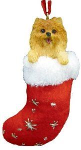 Es Pets Orn221-27 Santas Little Pals Christmas Ornament from E&S Imports, Inc  ♥ Available at BuyDogSweaters.com