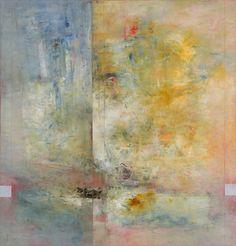 Peter Burega, Little Spring Bay, No. 5, Oil on Wood Panel, 42×40, SOLD
