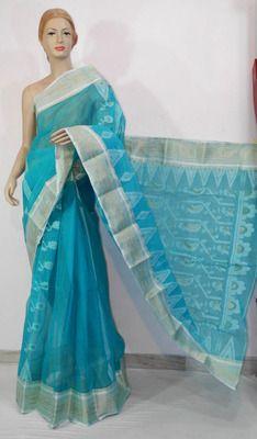 Bengali Saree, Prom Dresses, Formal Dresses, Party Wear Sarees, Cotton Saree, Hand Weaving, Saris, Elegant, Blouse