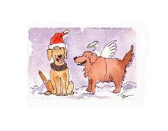 Dog  Art Labrador & Golden Retriever Dogs by tylersworkshop, $3.50