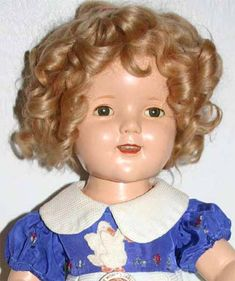 Shirley Temple Doll ~ my favorite  toy when I was a child