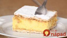 Napoleonka za 15 minút – úžasný recept bez pečenia: Vždy sa vydarí, chutí každému!