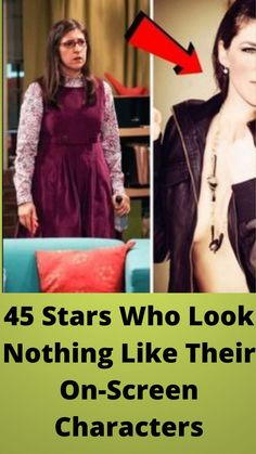 45 #Stars Who Look #Nothing Like Their On-Screen #Characters