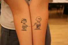 Charlie Brown & Lucy...
