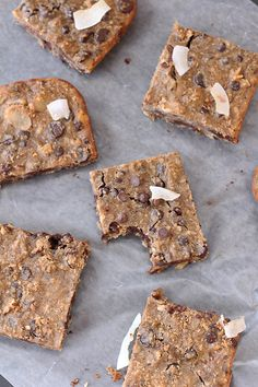 These healthy Chocolate Chip Blondies are moist and fudgy, with chocolatey goodness in every bite. Plus, they're also full of nutritious black-eyed peas.