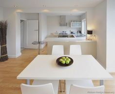 Modern Dining Room Design With Mango Wood Chairs And Gl Top Designs Square White Table Kitchen Wainscoting