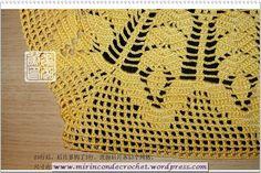 Blusa con gráfico y paso a paso | Mi Rincon de Crochet