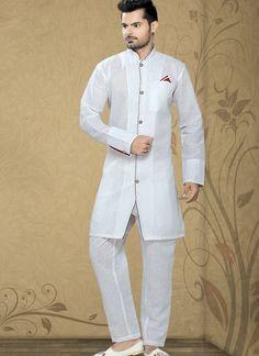 ff4d8a23ec Luscious Off White Men's Wear White Cotton, Embroidery Designs, Pajamas,  Pjs, Pajama