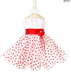 Be Mine Heart Dress and Headband