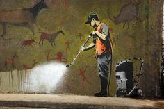 """Erasing the """"graffiti"""""""