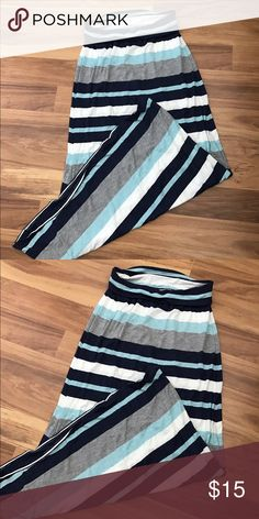 Max Sudio Maxi skirt❤️ Bought for summer time, worn once! No damages👍🏻 Max Studio Skirts Maxi