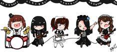 "Mr.B on Twitter: ""Band-maid  #BANDMAID… """