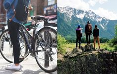 ... Wie wärs wieder einmal mit einer Velotour oder Wandern? Reisen auf ökologische Weise.