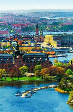 places to visit in sweden Best Places To Live, Famous Places, Beautiful Places To Visit, Cool Places To Visit, Beautiful Sites, Sweden Places To Visit, Places In Europe, Places To Travel, Places In New York