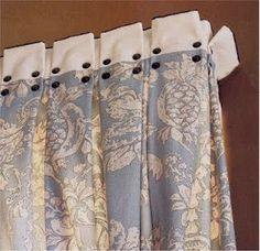 nice detail for window treatment top