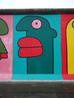 Berliner Mauer #art #berlin #graffiti