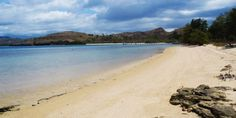 You can fish, surf, or dive right on the resort's beach!