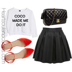 """""""Coco Made Me Do It"""" by adoremycurves on Polyvore"""