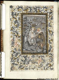 Book of Hours, MS M.854 fol. 108v - Images from Medieval and Renaissance Manuscripts - The Morgan Library & Museum