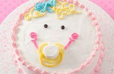 Girl Baby Face Cake Recipe | Betty Crocker