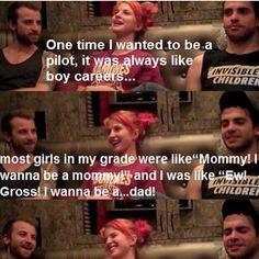 Hahahah! OH Hayley!