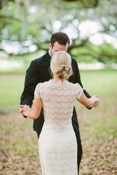 dress. Southern Weddings Magazine