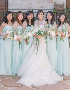 Springtime pretty: http://www.stylemepretty.com/california-weddings/carmel-valley/2015/07/16/rustic-spring-wedding-at-holman-ranch/ | Photography: Clane Gessel - http://clanegessel.com/