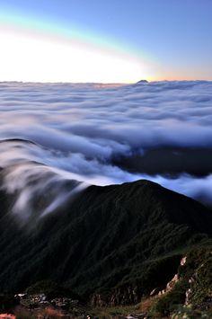 A view from Mt. Kita, Yamanashi, Japan