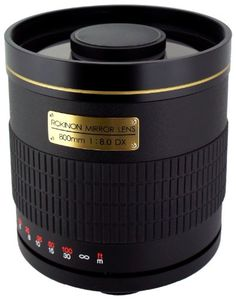 Rokinon 800M-B-EOS 800mm F8.0 Mirror Lens for Canon EOS - http://slrscameras.everythingreviews.net/1940/rokinon-800m-b-eos-800mm-f8-0-mirror-lens-for-canon-eos.html
